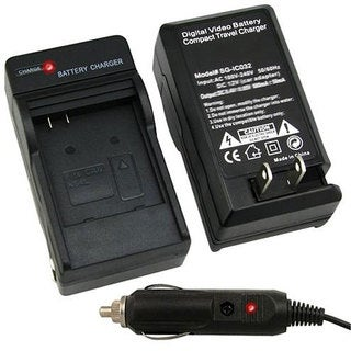 INSTEN Compact Battery Charger Set for Canon NB-4L