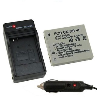 INSTEN Li-Ion Battery/ Charger Set for Canon Powershot