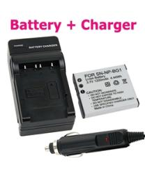 Sony CyberShot DSC-n1 / DSC-t100 Li-ion Battery and Charger Set
