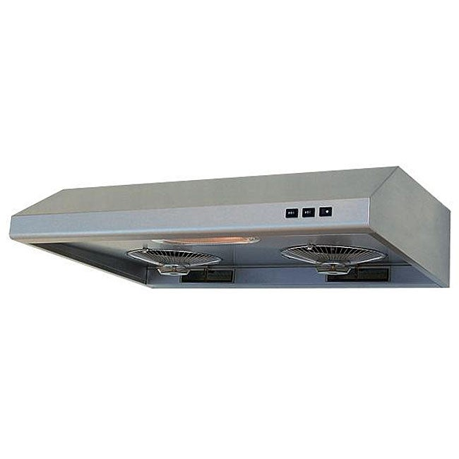 Brushed Stainless Steel 36-inch Under-cabinet Range Hood