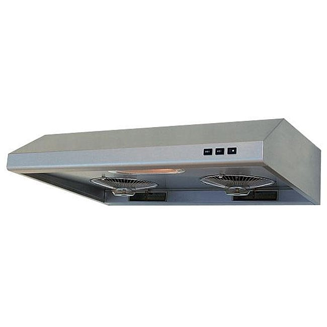 Brushed Stainless Steel 30 inch Under cabinet Range Hood Free Shipping Toda