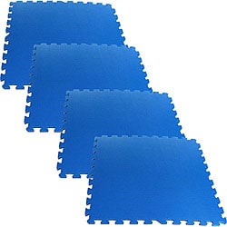 Ultimate Comfort 16-square-foot Blue Foam Flooring