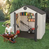 Lifetime Outdoor Storage Shed (8' x 7.5')