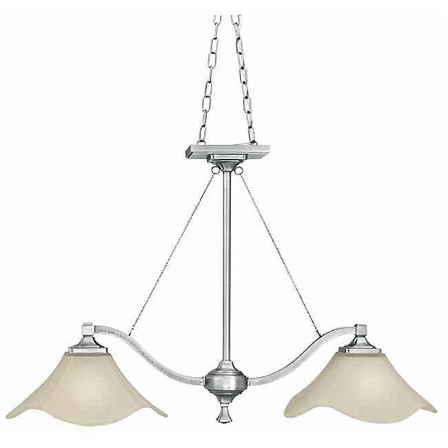 Island Style Pendant Lighting : Monroe satin pewter light island style pendant