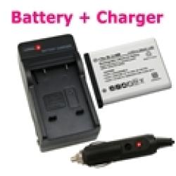 INSTEN Nikon Coolpix S220-Compatible Lithium-Ion Battery with Charger - Thumbnail 1