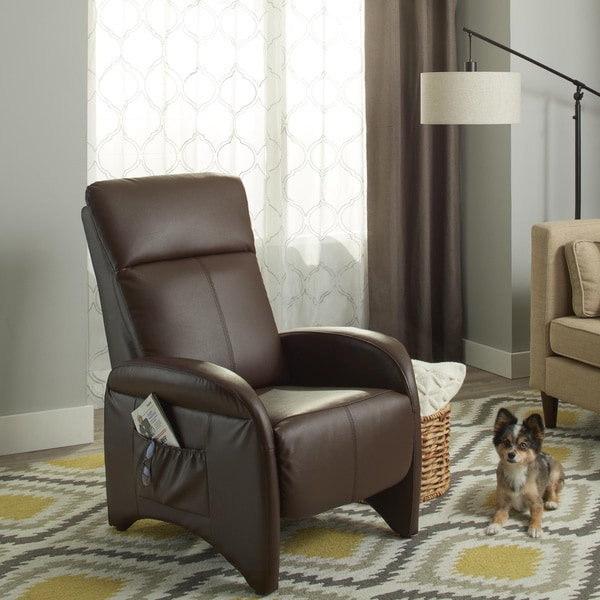 Shop Simple Living Addin Small Reclining Accent Chair On