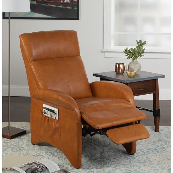 Incredible Shop Simple Living Addin Small Reclining Accent Chair On Ibusinesslaw Wood Chair Design Ideas Ibusinesslaworg