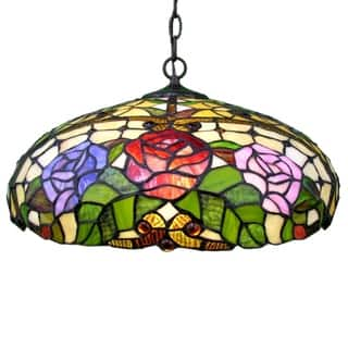 Rose Floral Hanging Fixture https://ak1.ostkcdn.com/images/products/4692806/P12609577.jpg?impolicy=medium