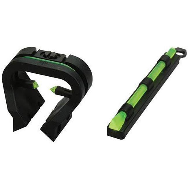 HiViz TriViz Fiber Optic Shotgun Sight Set