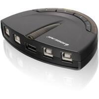 IOGEAR GUB431 4-Port USB 2.0 Automatic Printer Switch