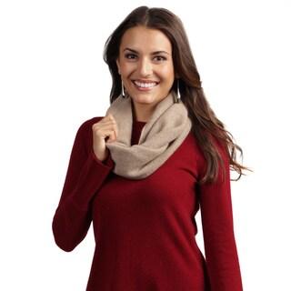 Portolano Women's Cashmere Infinity Scarf