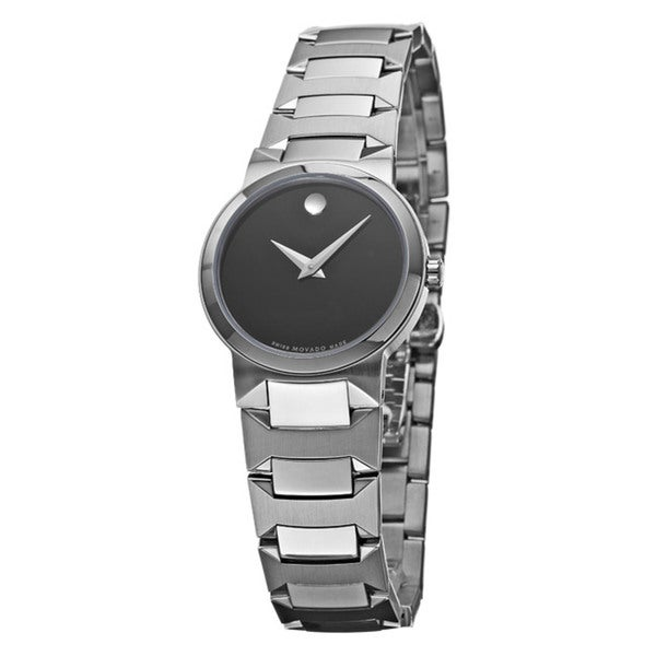 Movado Women's 'Temo' Stainless Steel Bracelet Watch
