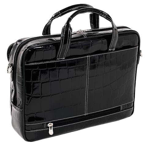 Siamod Ignoto Women's Large Leather Laptop Briefcase