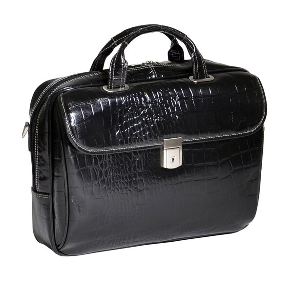 Siamod Women's Servano Small Leather Laptop Briefcase