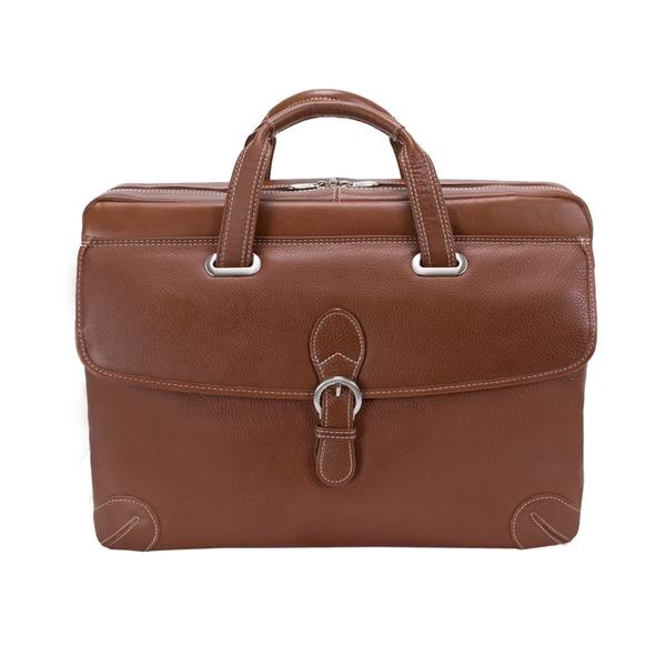 Siamod Women's Como Medium Leather Laptop Briefcase