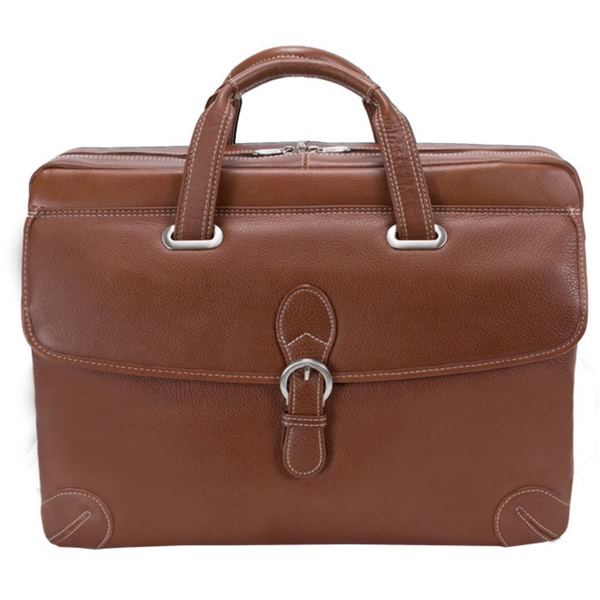 Siamod Women's Borella Small Leather Laptop Briefcase