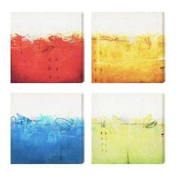 Gallery Direct Sean Jacobs 'Shifting Sand I-IV' Giclee Canvas Art (Set of 4)