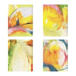 Gallery Direct 'Abstracted Nature II III VII XIII' Giclee Canvas Wall Art (Set of 4)