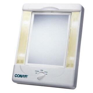 Shop Conair Oval Chrome 1x 7x Double Sided Lighted Mirror