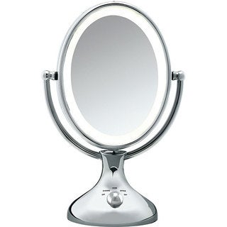 Shop Conair Oval Chrome Double Sided 1x 5x Illuminated