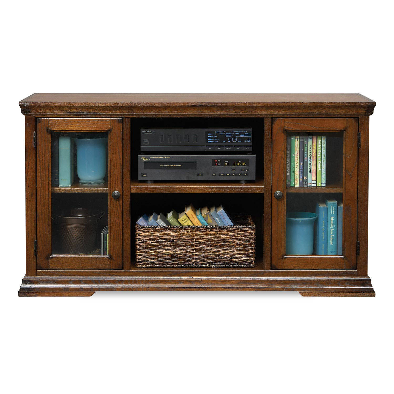 Art van oak canyon 51 inch tv console free shipping for Furniture of america danbury modern