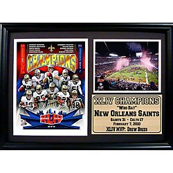 Super Bowl XLIV Champion New Orleans Saints Photo Frame