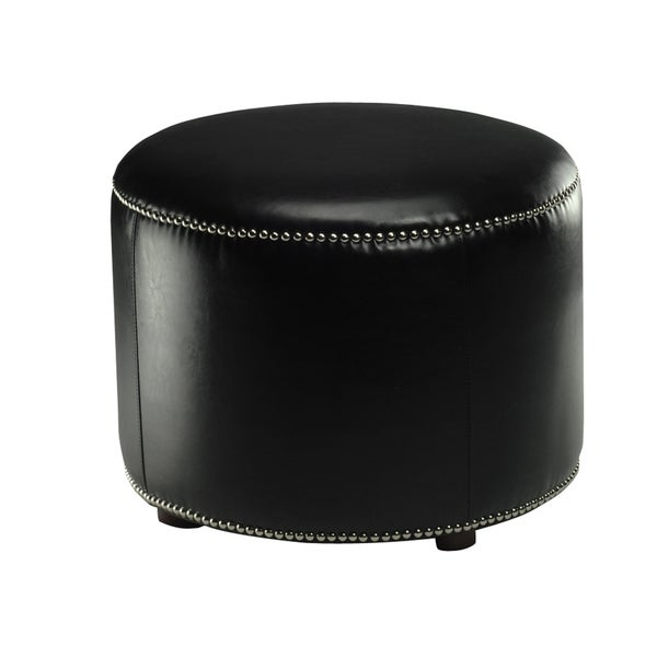 Shop Safavieh Florentine Storage Black Bicast Leather