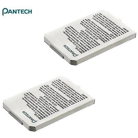Pantech PBR -C120 Standard Lithium Li-ion Batteries (Set of 2)