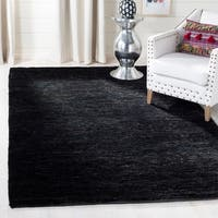 Safavieh Hand-knotted Vegetable Dye Solo Liquorice Hemp Rug - 5' x 8'