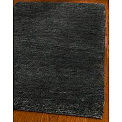 Safavieh Hand-knotted Vegetable Dye Solo Liquorice Hemp Rug (8' x 10') - Thumbnail 1