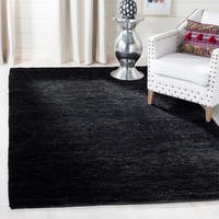 Safavieh Hand-knotted Vegetable Dye Solo Liquorice Hemp Rug - 8' x 10'