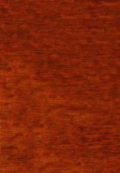 Safavieh Hand-knotted Vegetable Dye Solo Rust Hemp Rug (4' x 6')