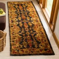 Safavieh Hand-knotted Heirloom Charcoal Jute Rug - 2'6 x 8'