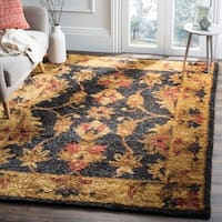 Safavieh Hand-knotted Heirloom Charcoal Jute Rug - 6' x 9'