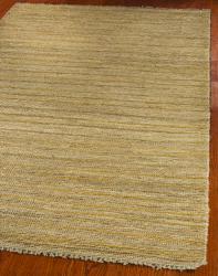 Safavieh Hand-knotted All-Natural Sunrise Beige Hemp Runner (2'6 x 12') - Thumbnail 1