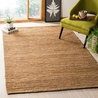 Safavieh Hand-knotted All-Natural Sunrise Beige Hemp Rug - 5' x 8'