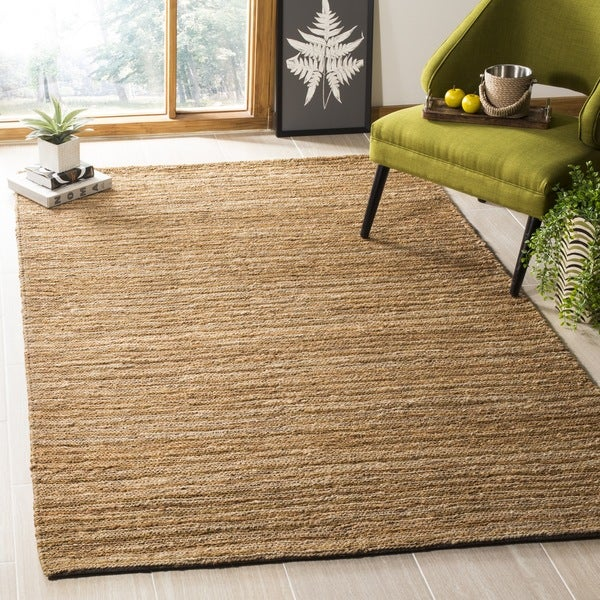 Safavieh Hand-knotted All-Natural Sunrise Beige Hemp Rug (9' x 12')