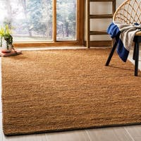 Safavieh Hand-knotted All-Natural Horizons Gold Hemp Rug - 4' x 6'