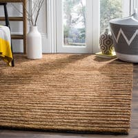 Safavieh Hand-knotted All-Natural Fields Beige Hemp Runner - 2'6 x 10'