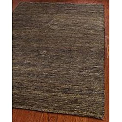 Safavieh Hand-knotted All-Natural Earth Brown Hemp Runner (2'6 x 10') - Thumbnail 1
