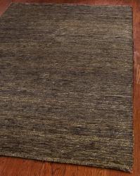Safavieh Hand-knotted All-Natural Earth Brown Hemp Runner (2'6 x 12') - Thumbnail 1