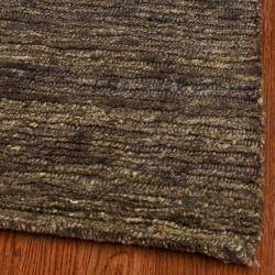 Safavieh Hand-knotted All-Natural Earth Brown Hemp Runner (2'6 x 12') - Thumbnail 2