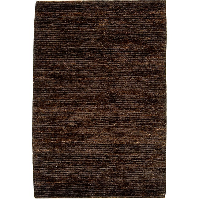 Safavieh Hand-knotted All-Natural Earth Brown Hemp Runner (2'6 x 12')