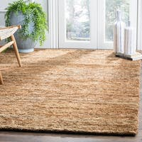 Safavieh Hand-knotted All-Natural Hayfield Beige Hemp Rug - 5' x 8'