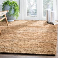 Safavieh Hand-knotted All-Natural Hayfield Beige Hemp Rug - 8' x 10'