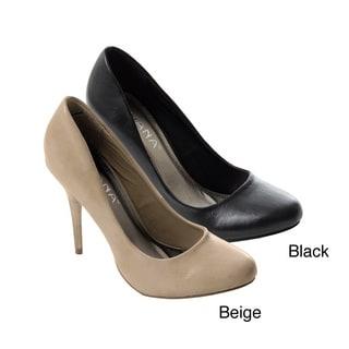 Liliana by Adi Women's Round Toe Heels