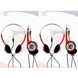 Nemo Digital MLF10116BS Overhead Boston Red Sox Headphones (Set of 2)