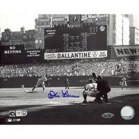 Don Larsen 'First Pitch' Signed 8x10 Photograph