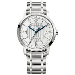 Baume & Mercier Men's Classima Executive Silver Guilloche Dial Watch