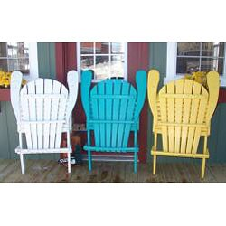 Forever Phat Tommy Recycled Folding Adirondack Chair